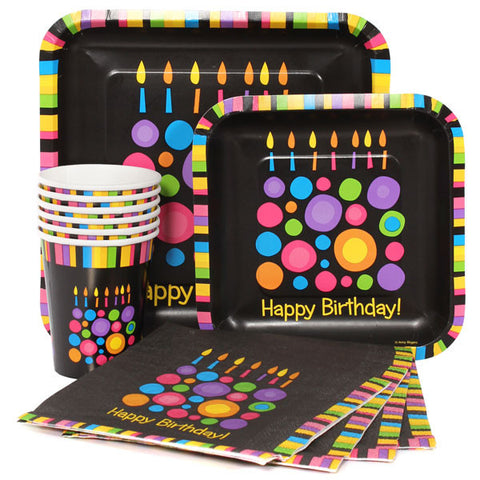 Party Pack:  Birthday Cake Dots
