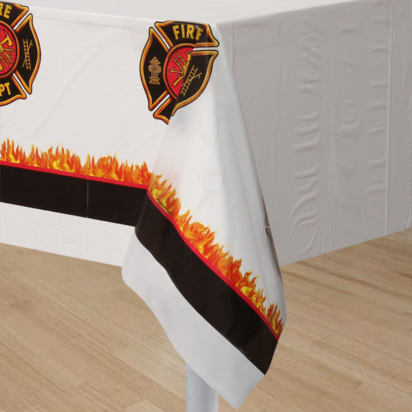 Party Pack:  Fire Truck Tablecover