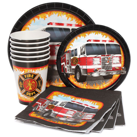 Party Pack:  Fire Truck