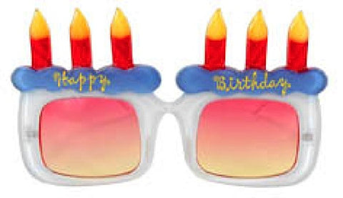 Happy Birthday Glasses