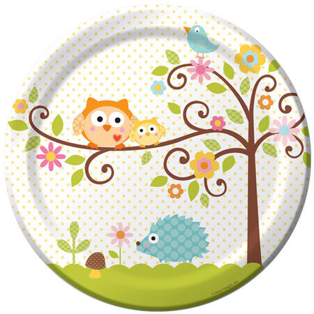 Happy Tree Dinner Plate