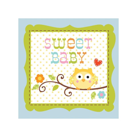 Happy Tree Sweet Boy Beverage Napkin