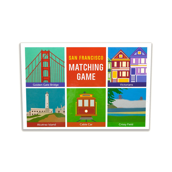 San Francisco:  Matching Game