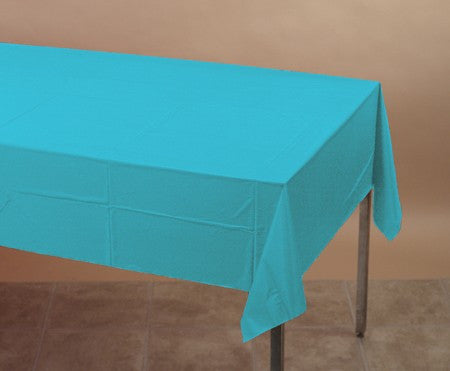 Tableware:  Bermuda Blue Paper Table Cover