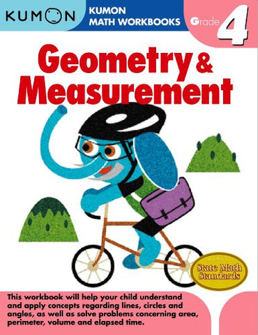 Kumon Grade 4 Geometry & Measurement
