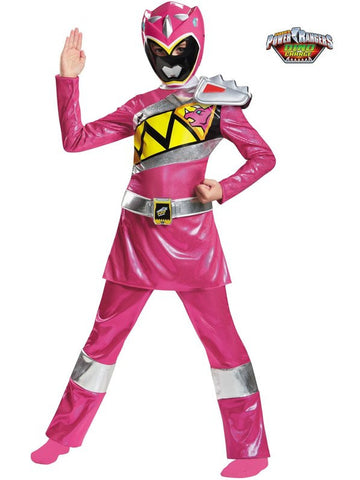 Pink Ranger Dino Girls Medium