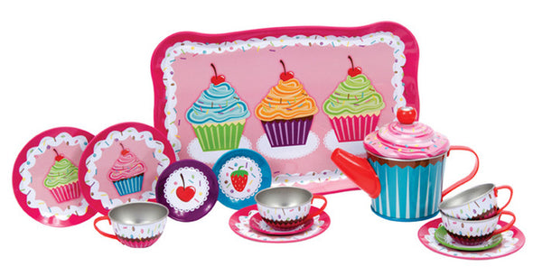 Schylling Cupcake Tea Set