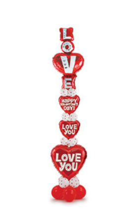Tower of Love Balloon Column