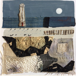 "Mixed Media Art By Louise O'Hara - ""An abandoned Lighthouse"""