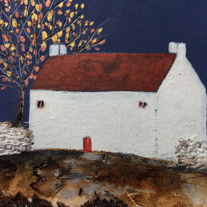 "Mixed Media Art work by Louise O'Hara ""Copper times Of Autumn"""