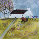 "Mixed Media Art By Louise O'Hara - ""Spring Washing"""