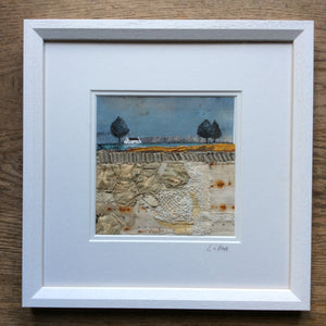 "Mixed Media Art By Louise O'Hara - ""Reflections in the Tarn"""