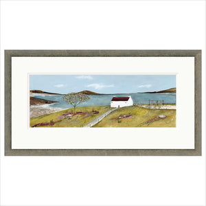 Limited Edition Print - Summer Cottage - FRAMED