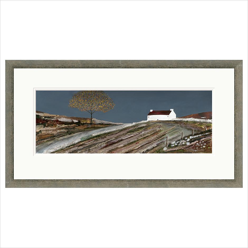 Limited Edition Print - Autumn Cottage - FRAMED