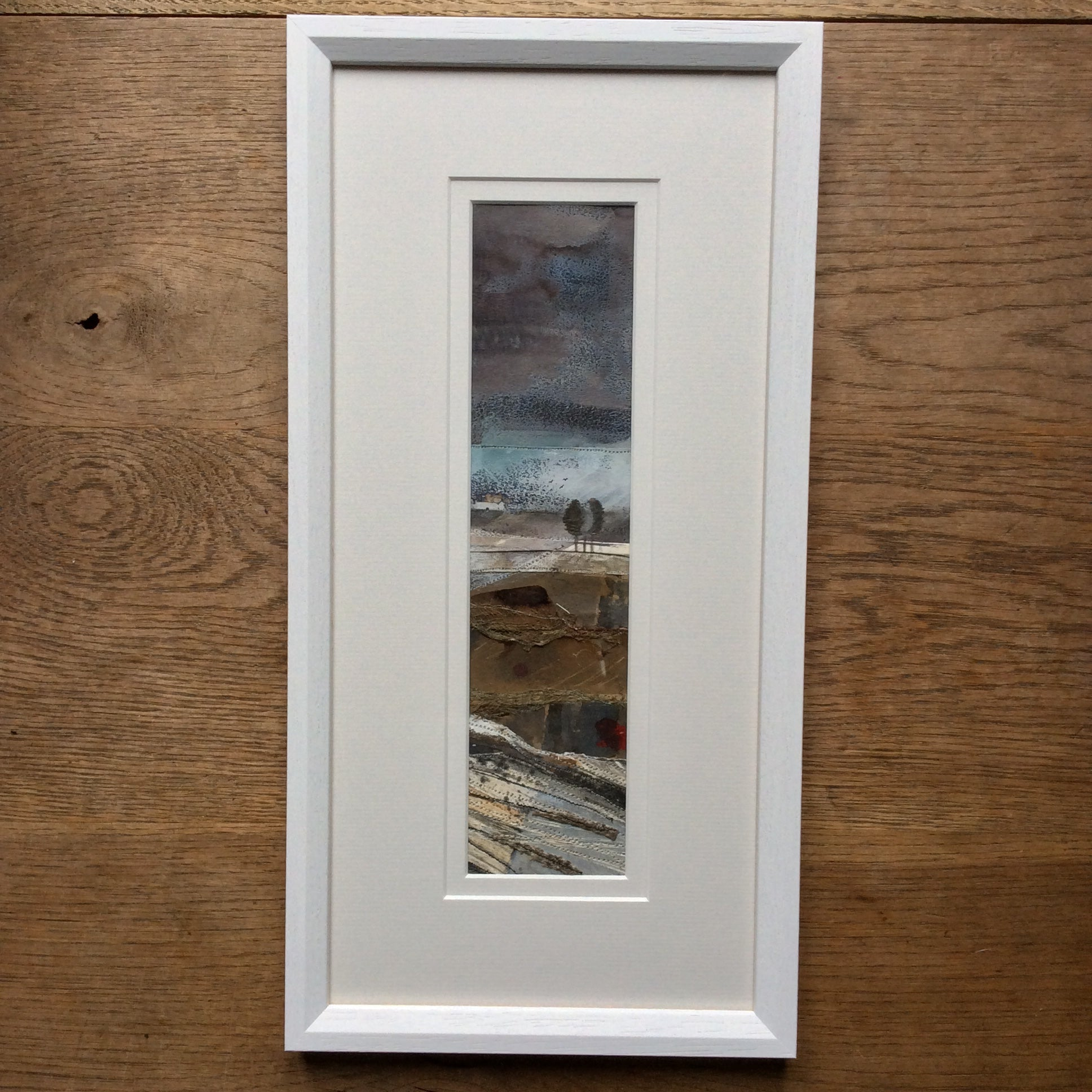 "Mixed Media Art work by Louise O'Hara ""An abandoned Croft"