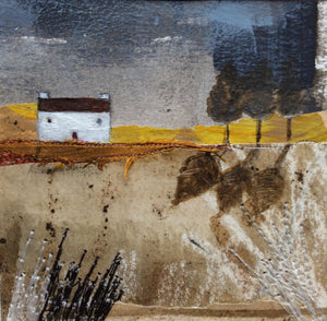 "Mixed Media Art By Louise O'Hara - ""A storm on the horizon"""