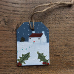 Mixed Media Art work by Louise O'Hara - Christmas Decoration