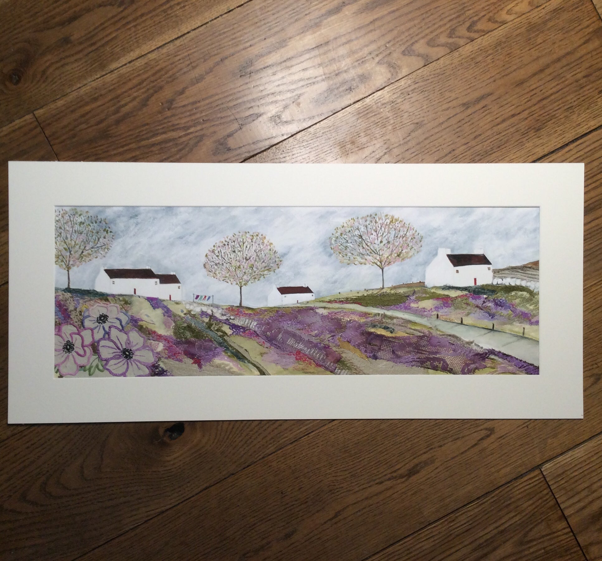 "Special edition limited edition print by Louise O'Hara ""Down to the village"" Special Edition"