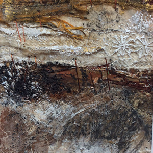 "Mixed Media Art work by Louise O'Hara ""A rugged Autumn"""