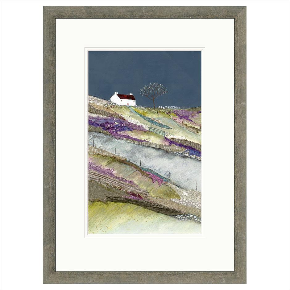 Limited Edition Print - Heading up to farm croft FRAMED
