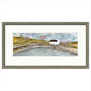 Limited Edition Print - Spring Cottage - FRAMED
