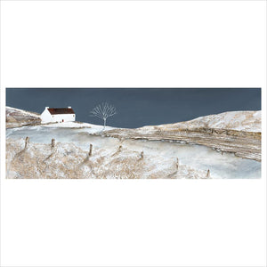 Limited Edition Print - Winter cottage