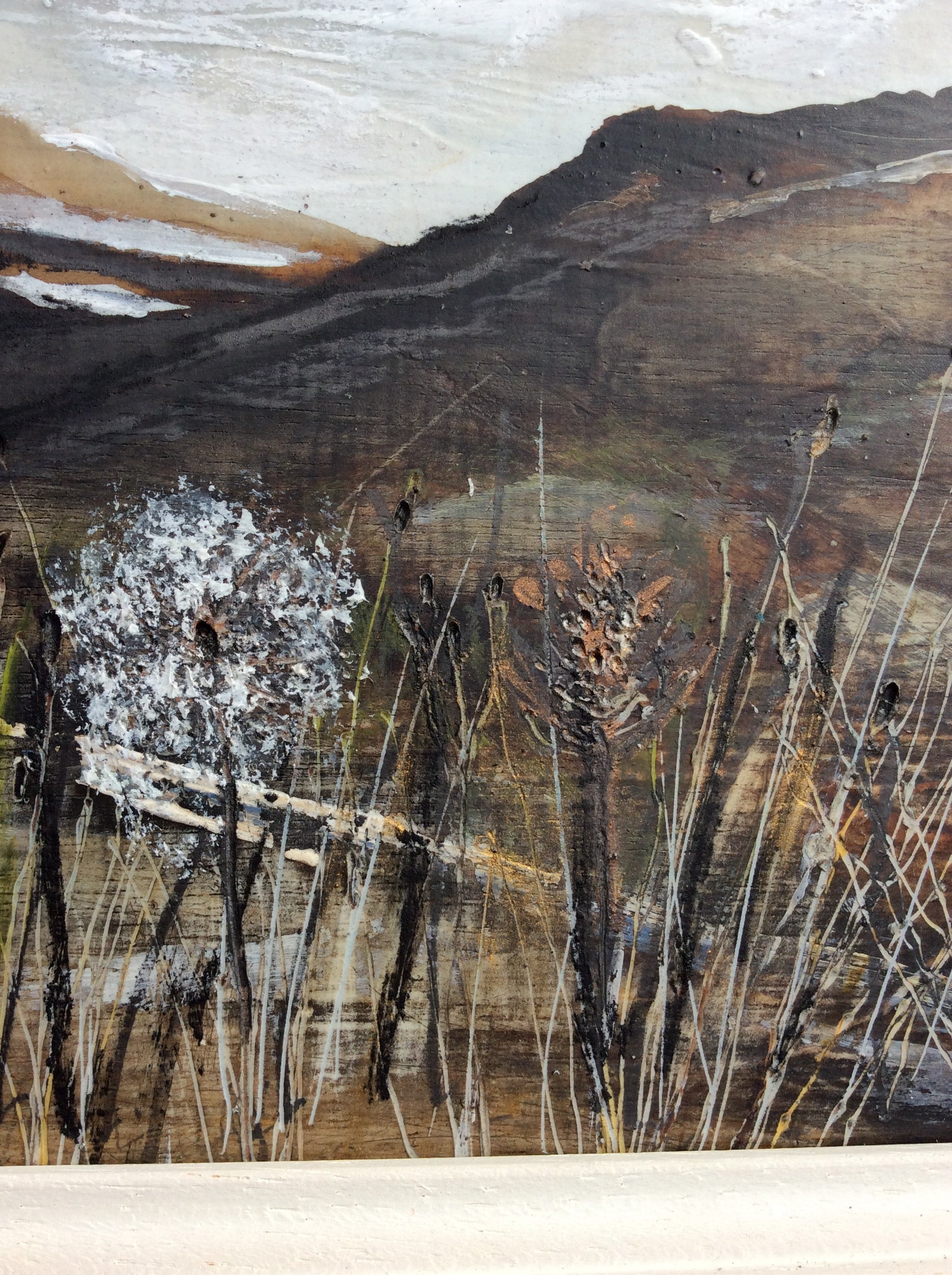 "Mixed Media Art By Louise O'Hara - ""Along the Valley"""
