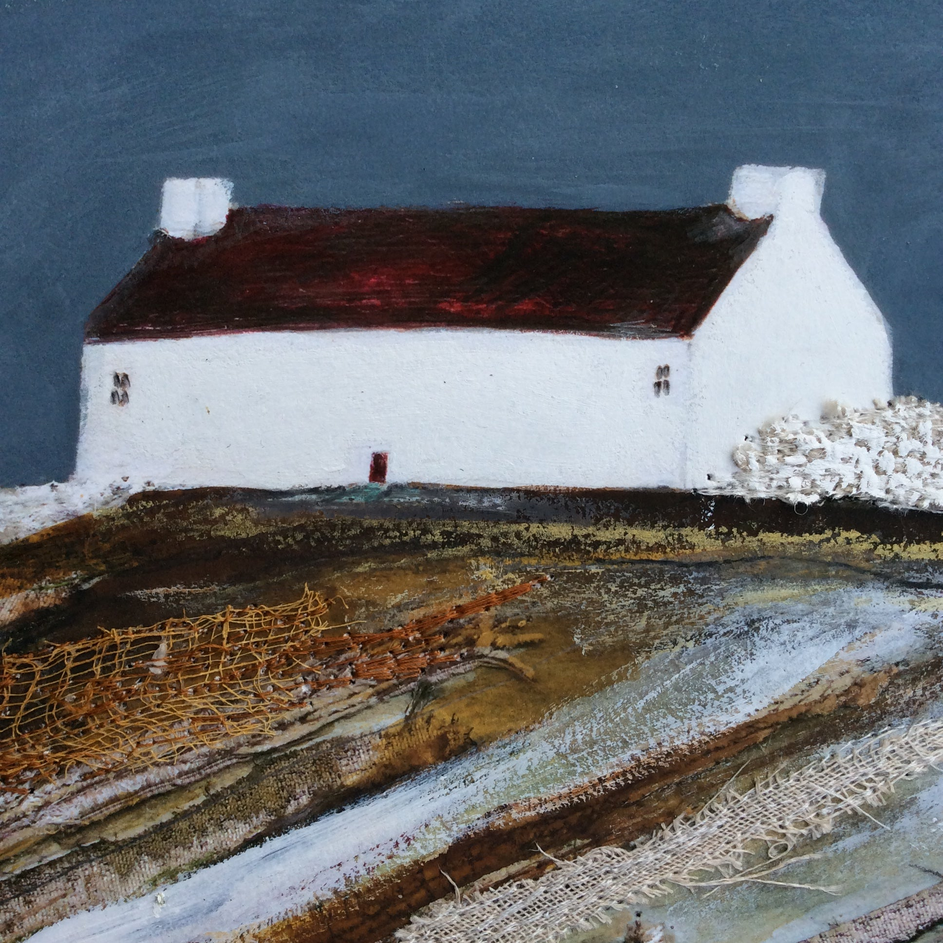 "Special edition limited edition print by Louise O'Hara ""Autumn Cottage"" Special Edition 1"