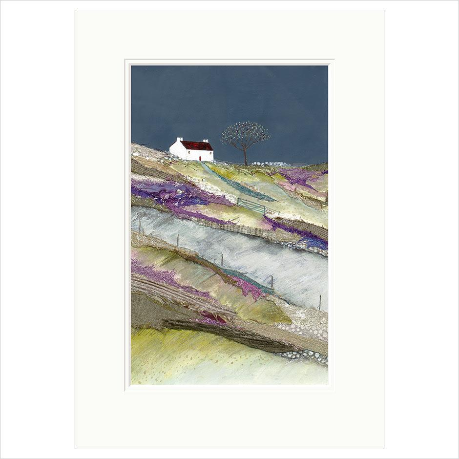 Original Limited Edition Print - Heading up to Farm Croft