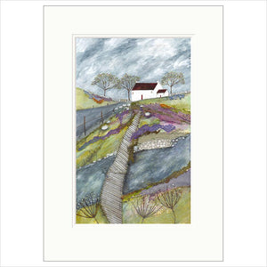 Limited Edition Print - A patch over the river