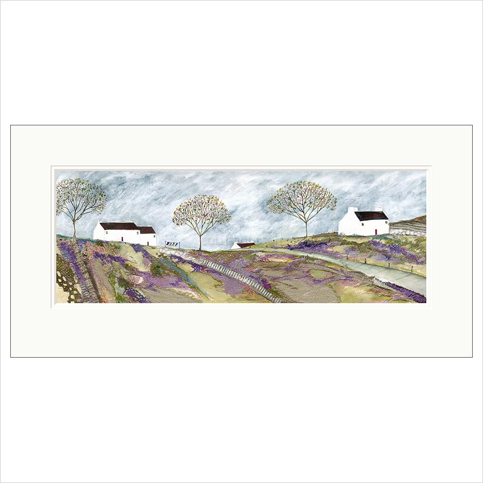 Limited Edition Print - Down to the village