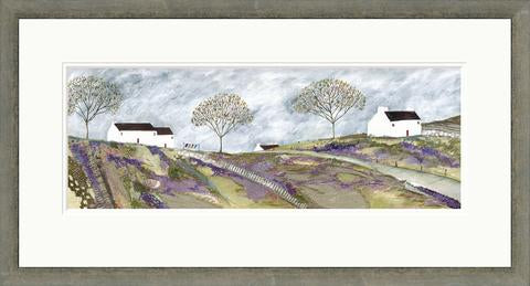 Limited Edition Print - Down to the village - FRAMED