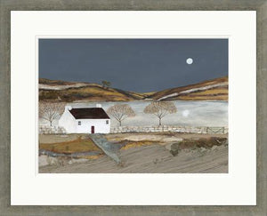 Limited Edition Print - Autumn Lake FRAMED