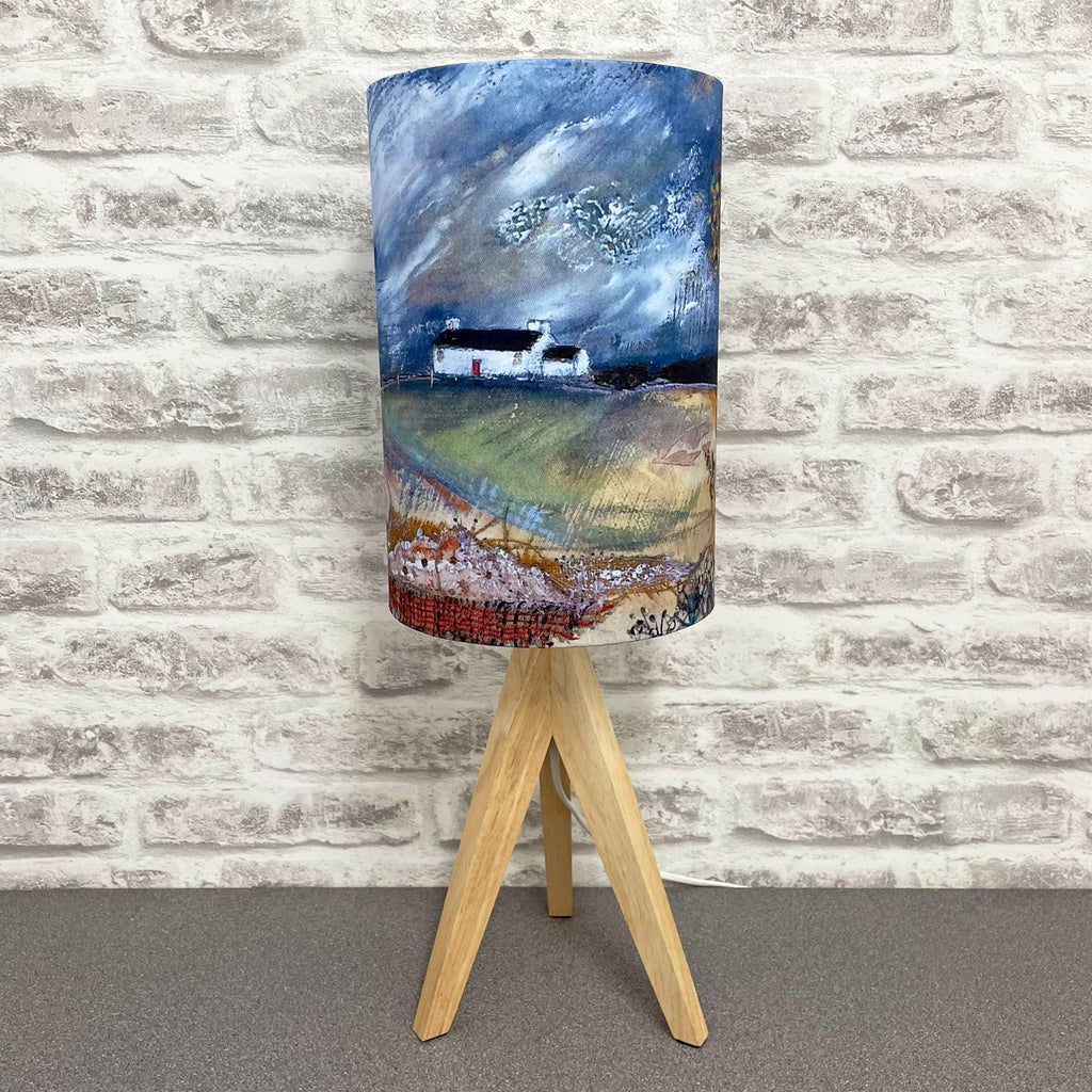 "Homeware - Lampshade  ""Along the farm drive"""""