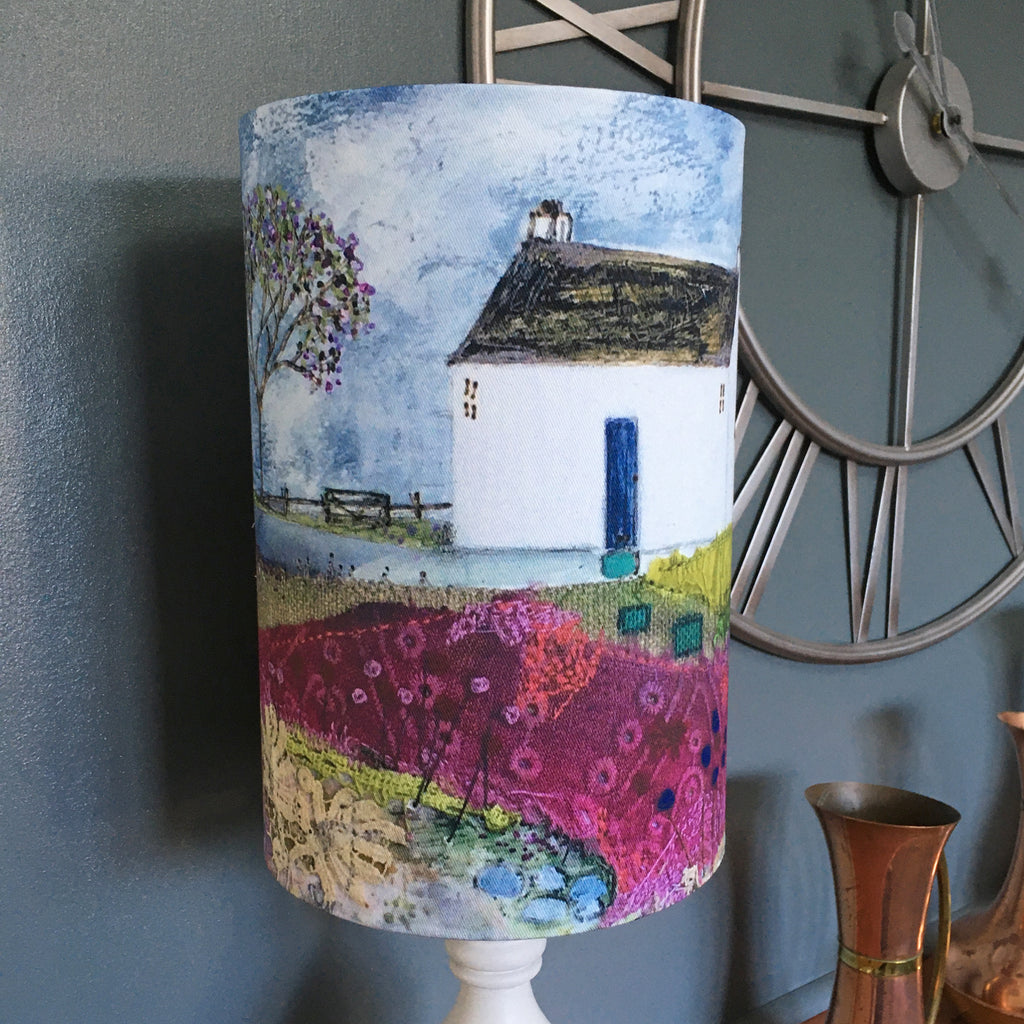"Homeware - Lampshade  ""Waiting for the last post"""