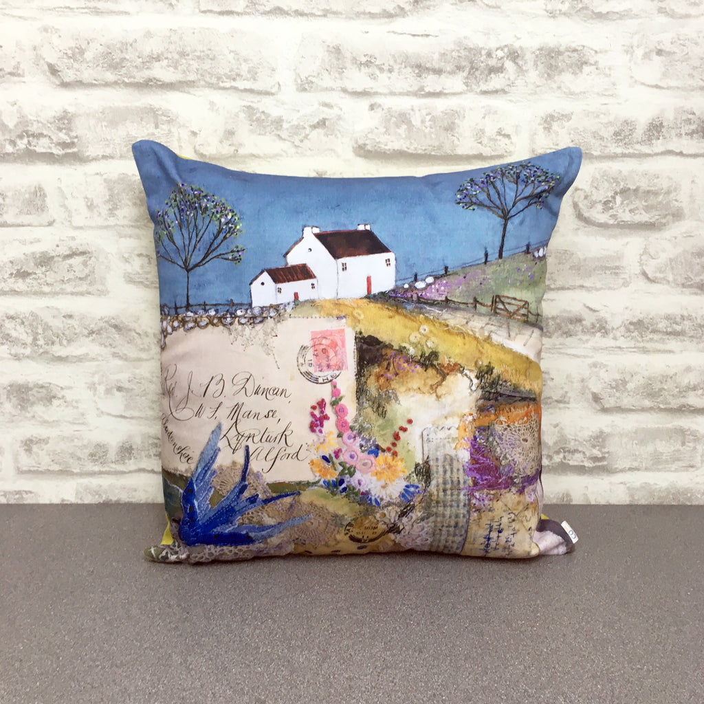"Homeware - Hand made cushion ""Swallows Roost"""