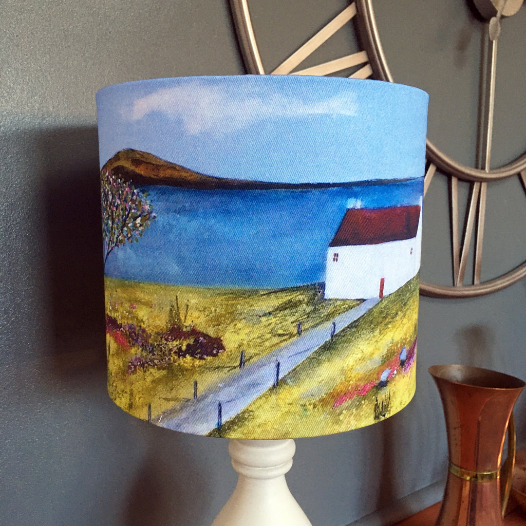 "Homeware - Lampshade  ""Summer Cottage"""