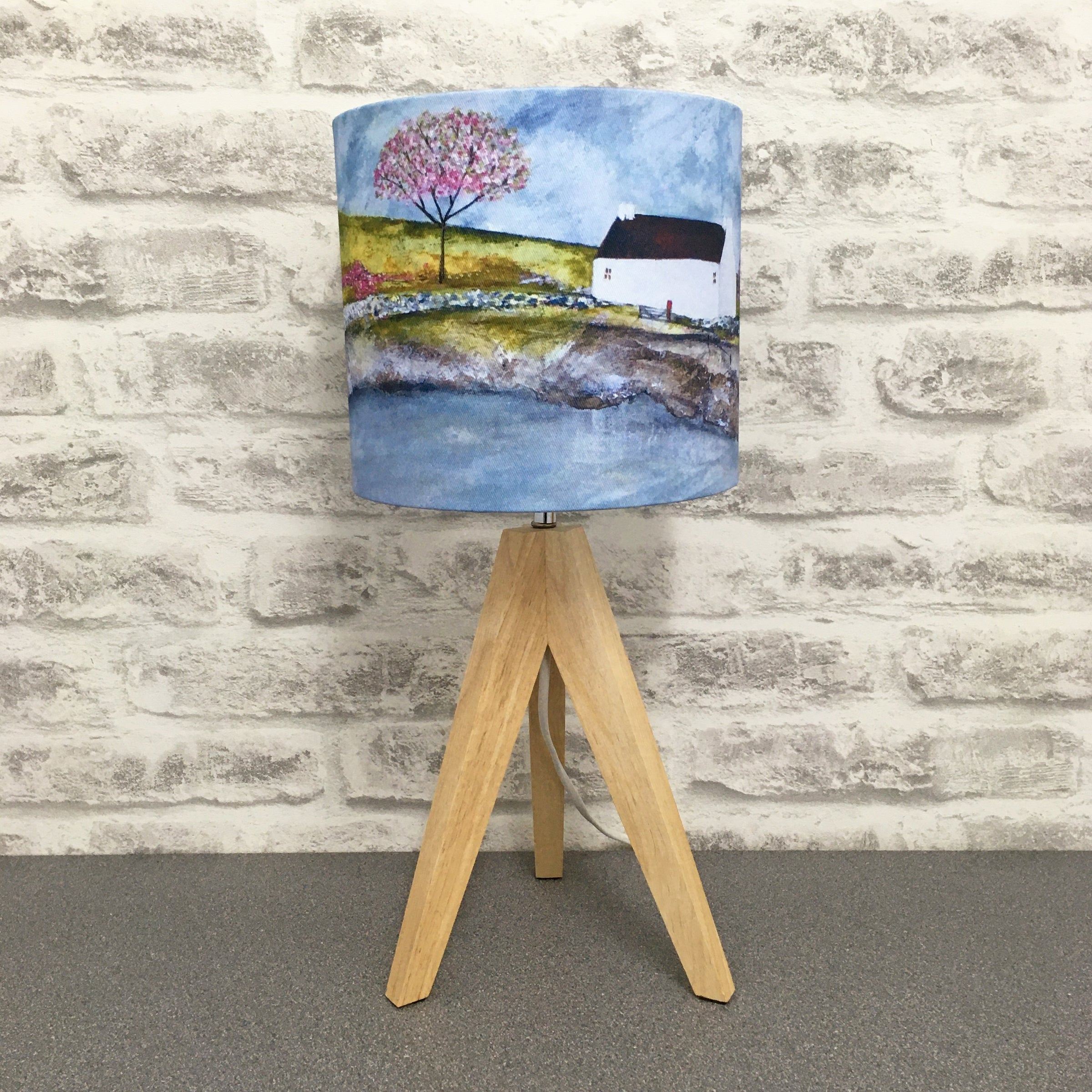 "Homeware - Lampshade  ""Spring Cottage"""