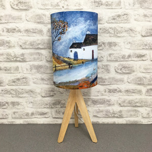 "Homeware - Lampshade  ""Shades of Autumn"" - Exclusive Limited gold insert Edition"