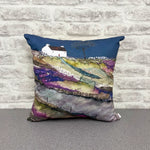 "Homeware - Hand made cushion ""Heading unto Farm Croft"""