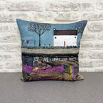 "Homeware - Hand made cushion ""Sunday was always washday"""