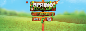 Welcome Spring With Up To 70% OFF!