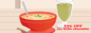 Celebrate National Soup Month With 35% OFF!