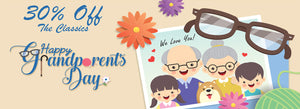 Celebrate Grandparents With 30% OFF!