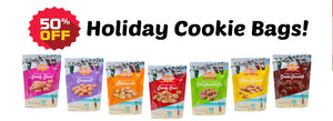 HURRY! 50% Off Holiday Cookie Bags!