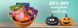 Treats no Tricks! Just Get 25% Off
