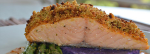 Sweet Chili Crusted Salmon