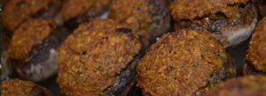 Sweet Chili Soda Cracker Stuffed Mushrooms