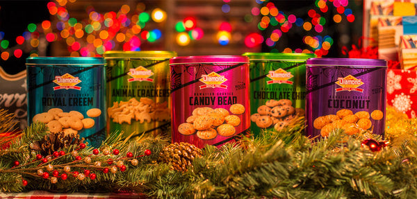 Holiday Cookie Tin Collection