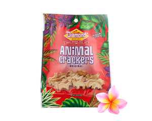 Hawaiian Jungle Animal Crackers, Original (0.8oz / Case of 100)